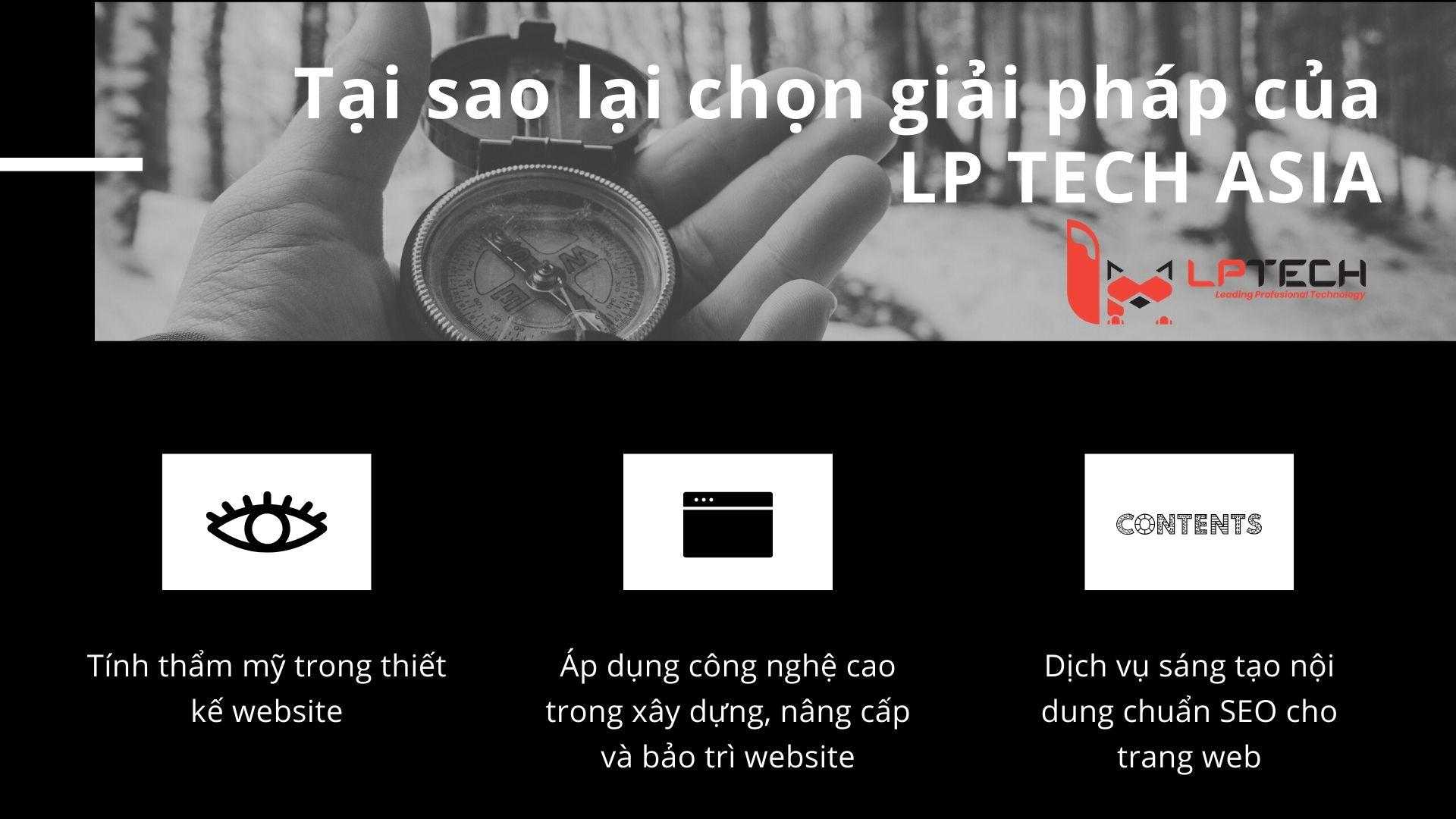 LP Tech giúp doanh nghiệp của bạn thiết kế và bảo trì website chuyên nghiệp nhất