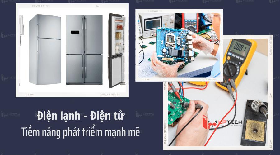 Tiềm năng phát triển của ngành điện lạnh, điện tử