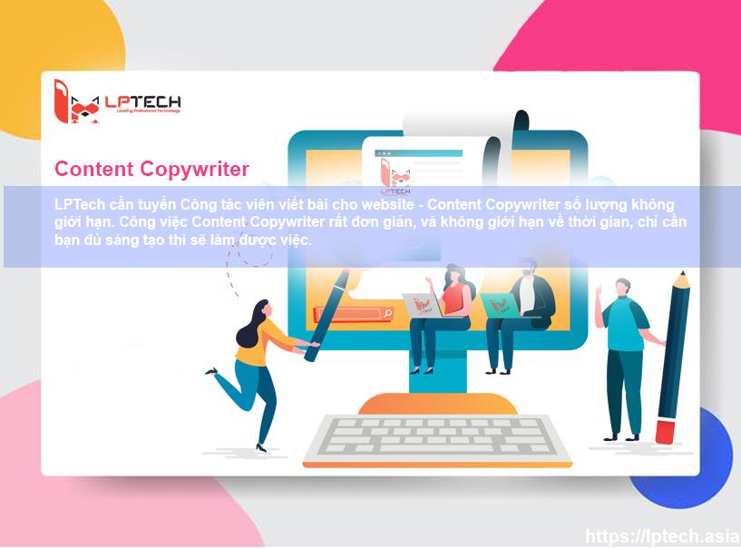 Tuyển cộng tác viên viết bài online - Content Copywriter