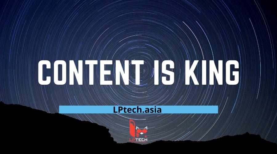 vai trò của content trong chiến lược SEO