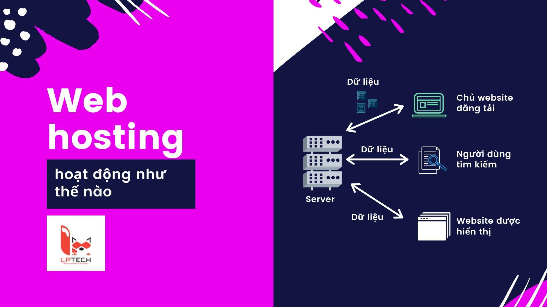 Web hosting vận hành như thế nào