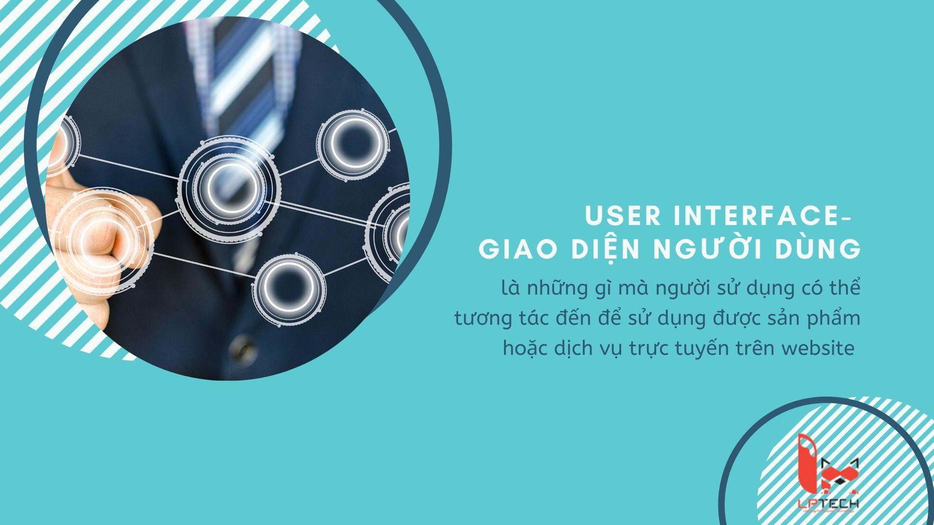 UI thiết kế giao diện người dùng cho website