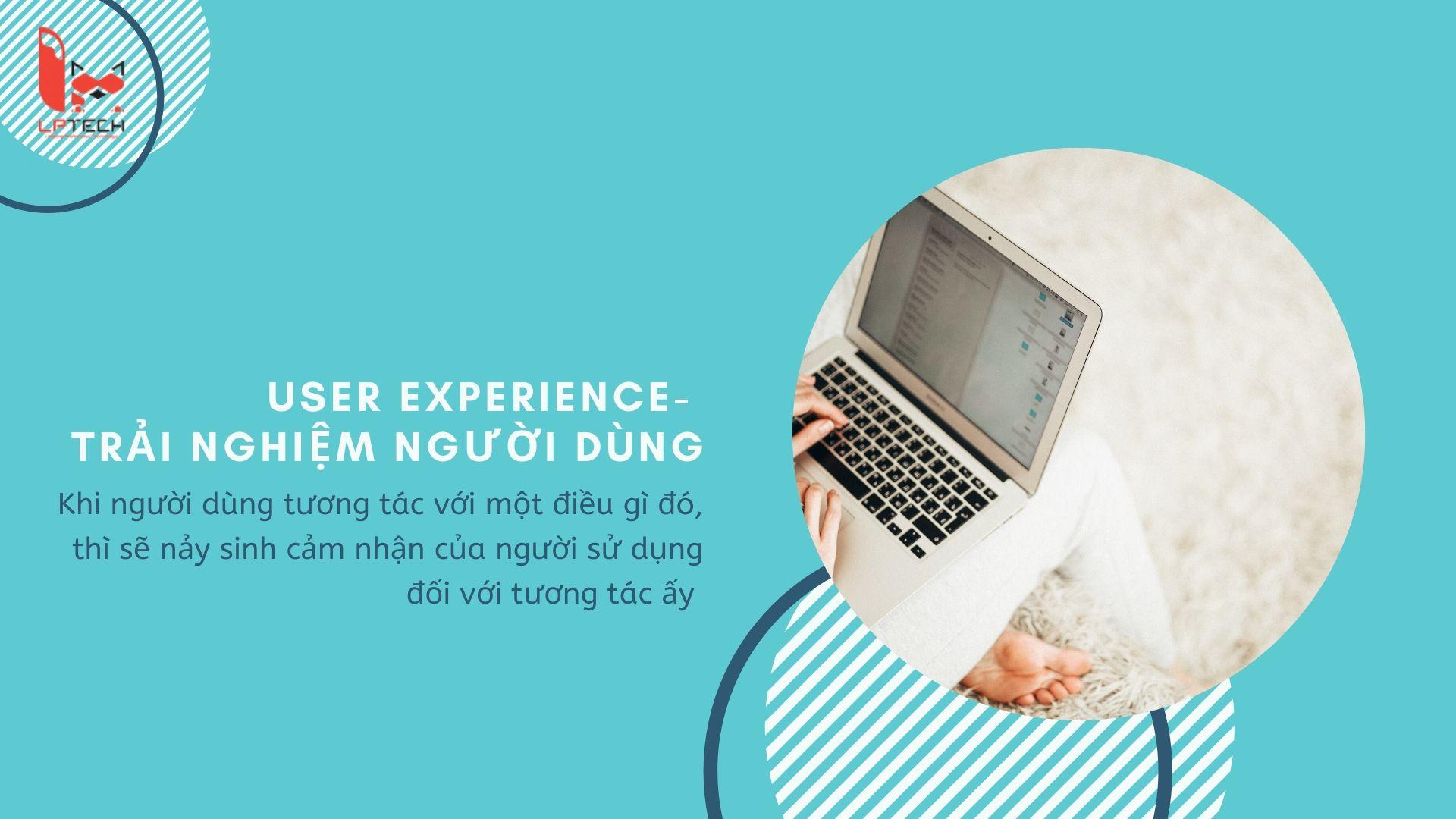 UX thiết kế trải nghiệm người dùng cho website