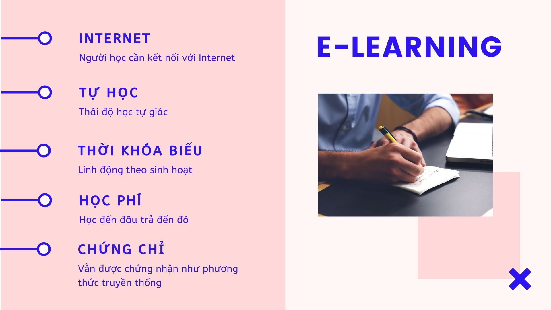 Học trực tuyến e-learning cần điều gì và mang lại gì cho người học