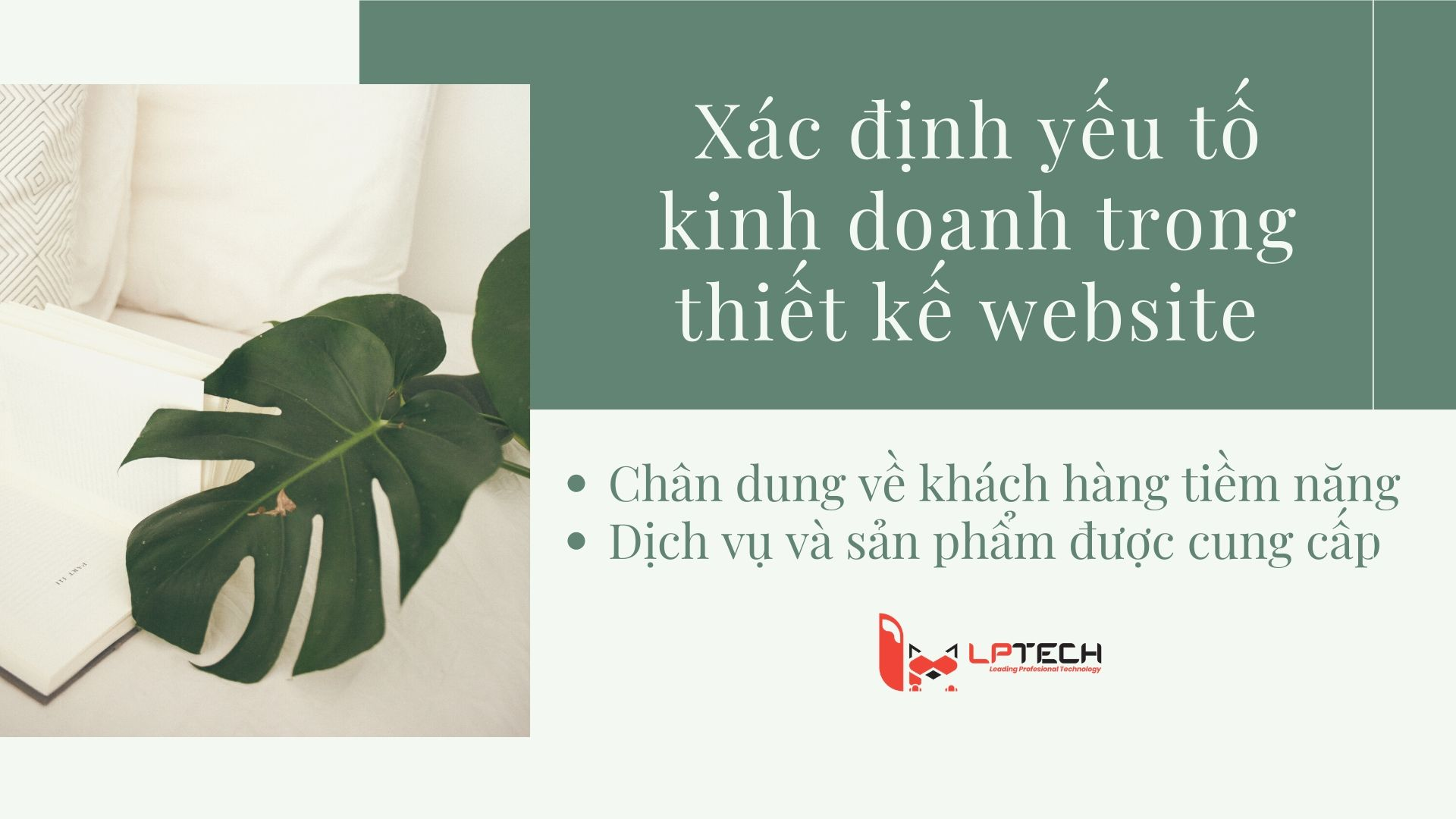 Xác định yếu tố kinh doanh trong thiết kế website