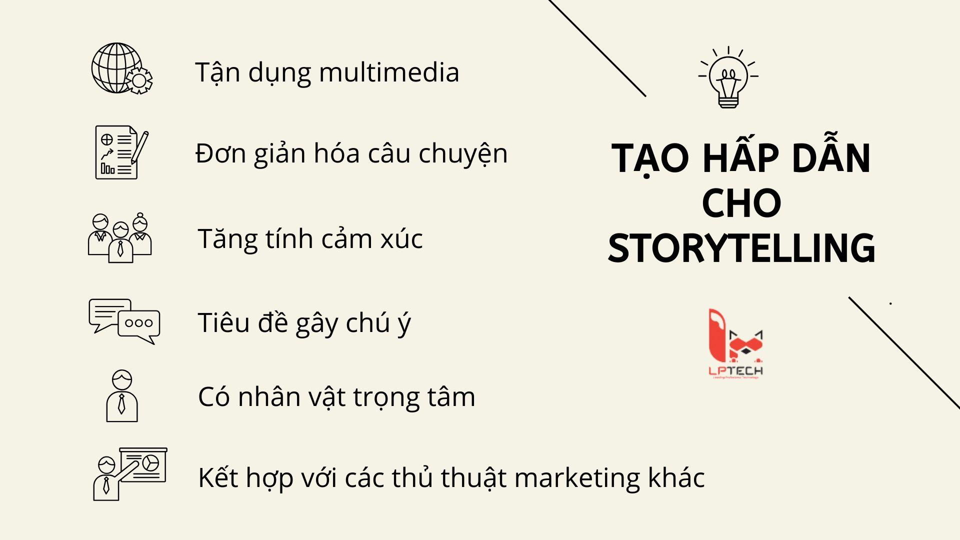 Làm sao để viết storytelling hấp dẫn