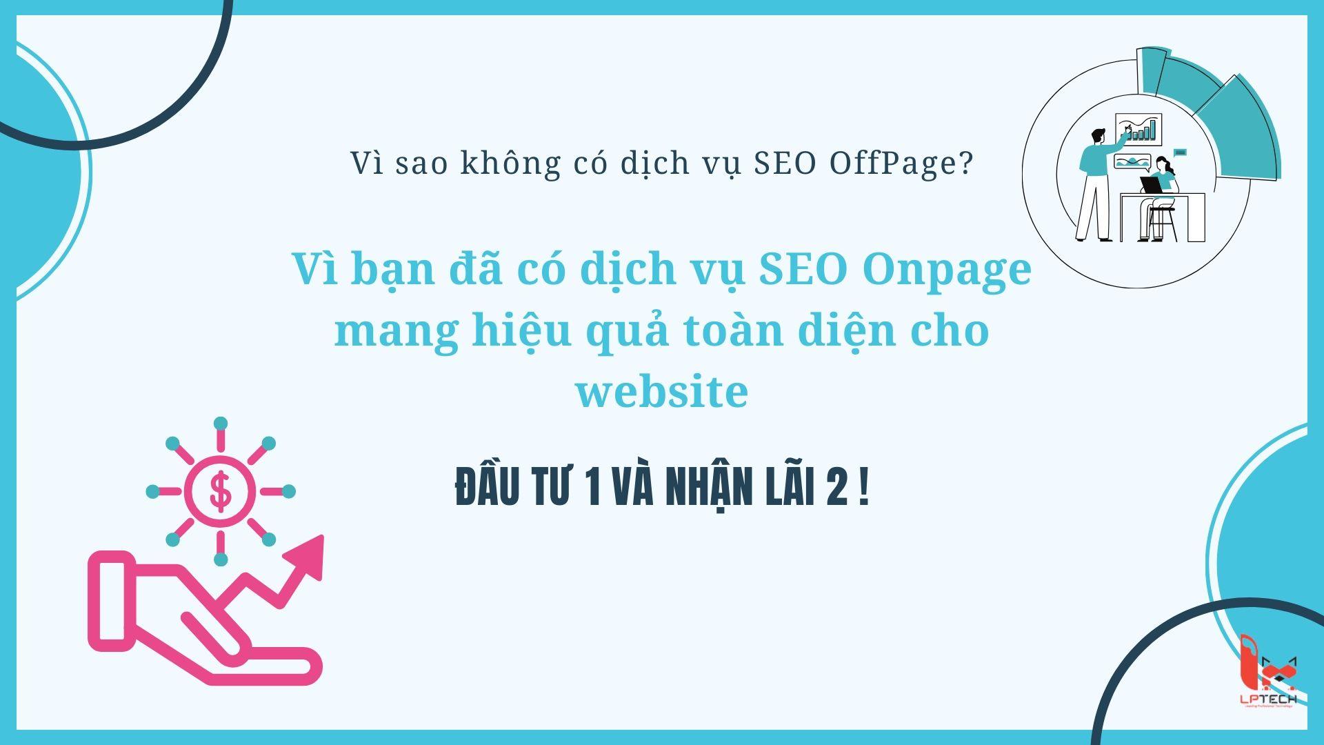 Vì sao nên sử dụng dịch vụ SEO Onpage