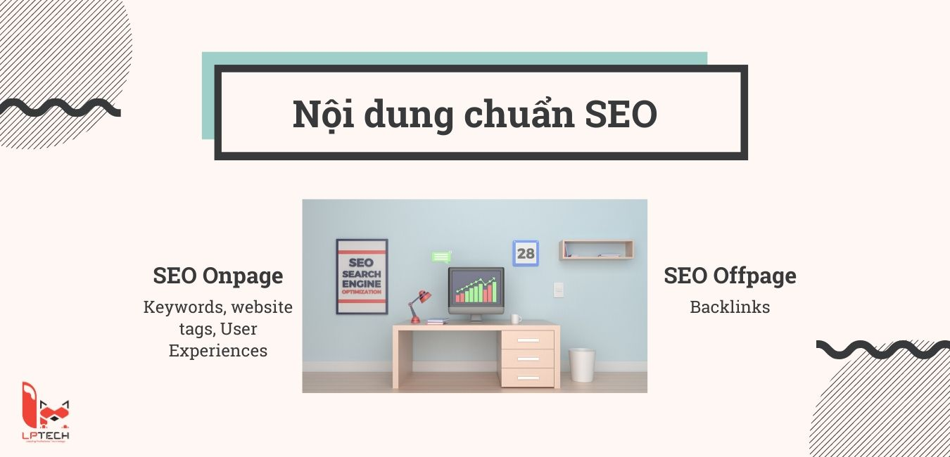 Chiến lược SEO bao gồm SEO Onpage và Offpage