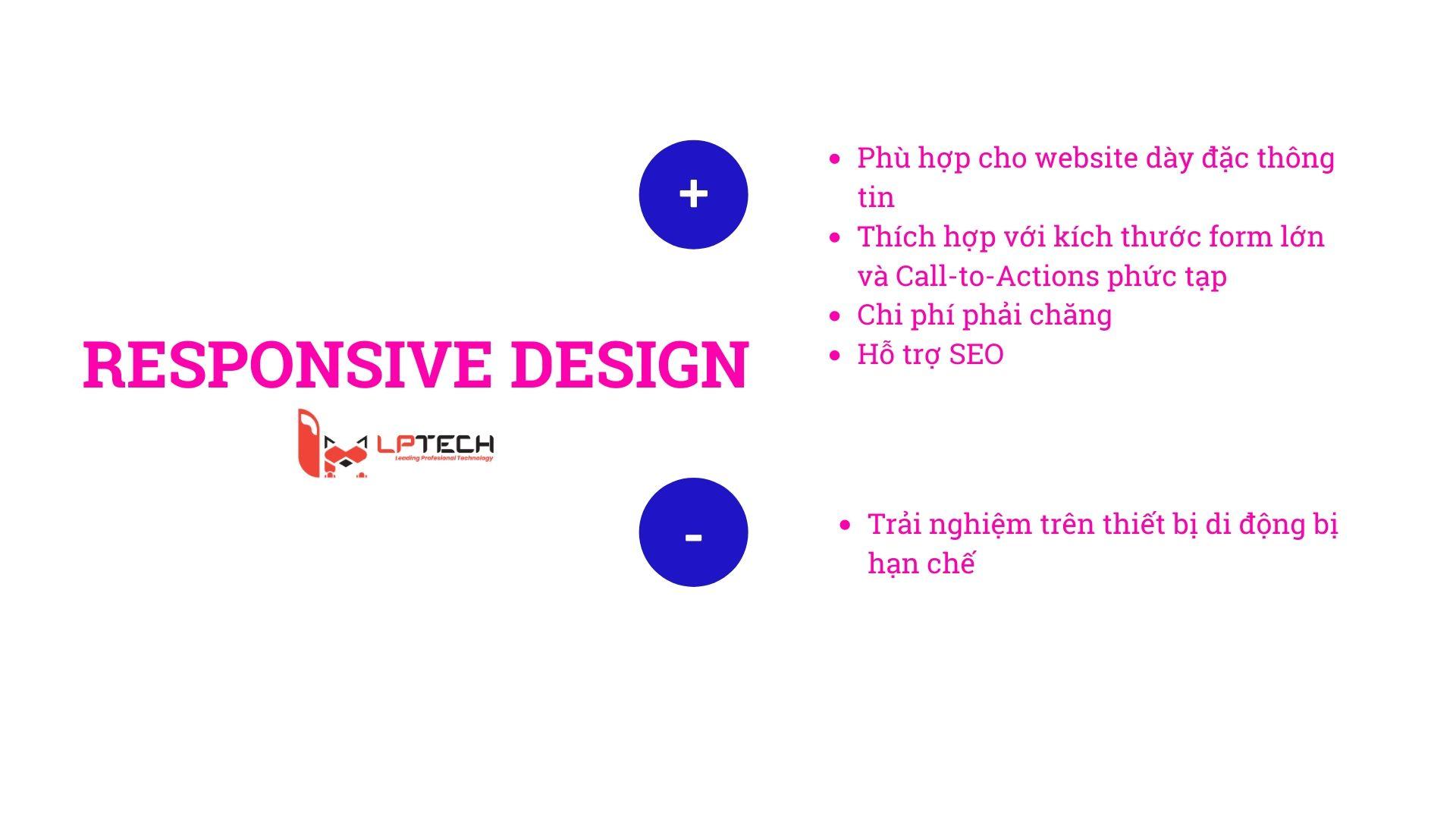 ưu nhược điểm của Responsive Design