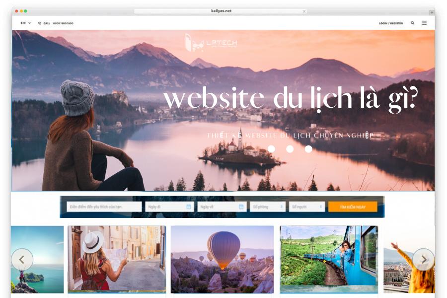 Thiết kế website du lịch đúng cách là gì?