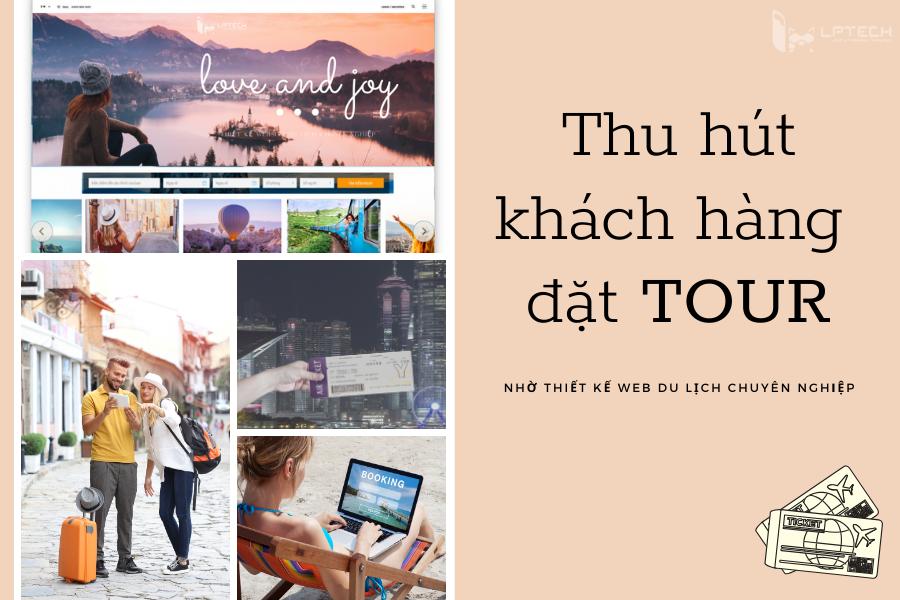Thu hút khách nhờ website du lịch đúng cách