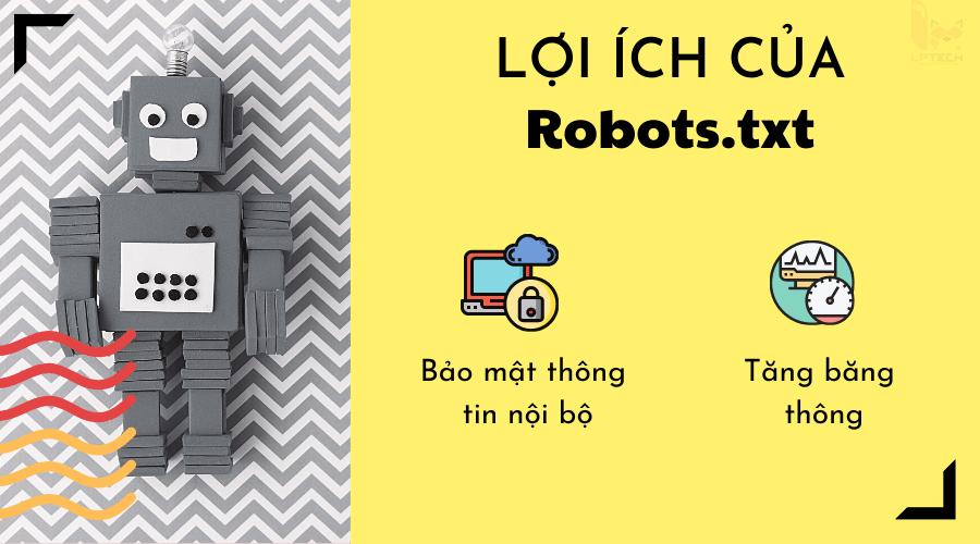 Lợi ích của Robots.txt