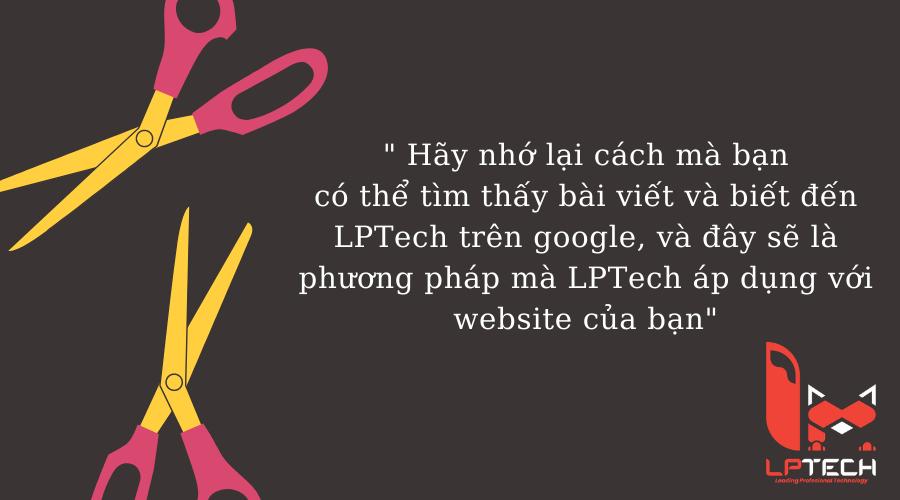 Dịch vụ thiết kế webiste LPTech