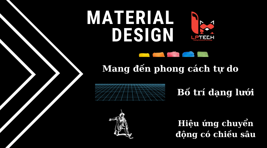 Giải pháp Material Design trong thiết kế website