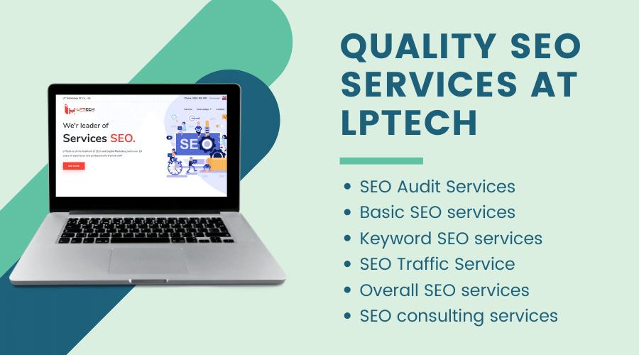Seo service at Lptech