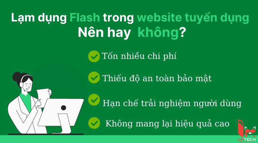 Công nghệ Flash trong website tuyển dụng việc làm hiệu quả