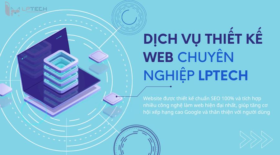 Thiết kế website chuyên nghiệp LPTech