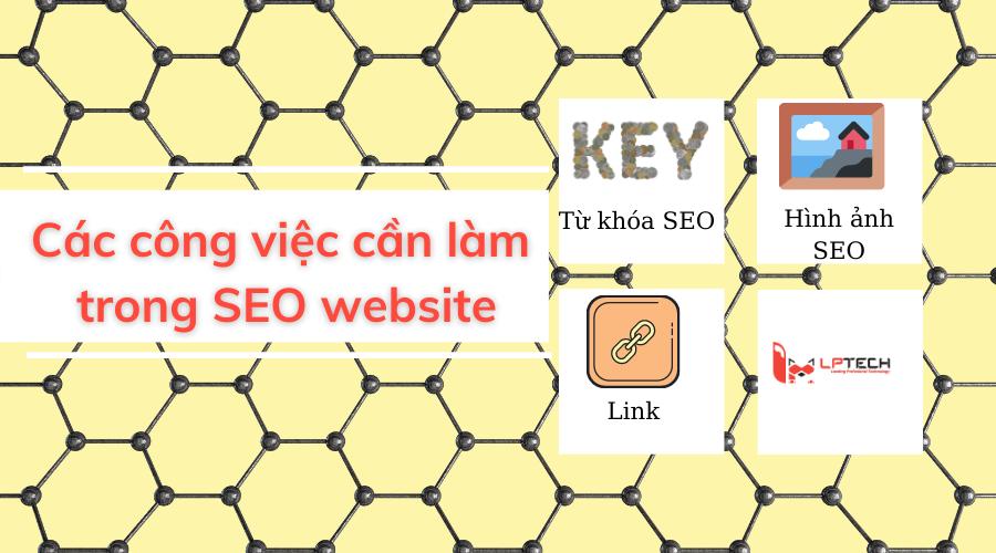 Các công việc cần làm trong SEO website
