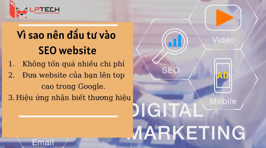 Vì sao nên đầu tư SEO website?