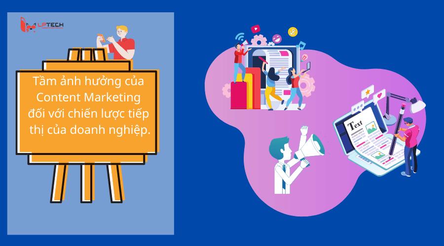tầm ảnh hưởng của content marketing