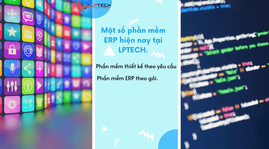Một số loại phần mềm erp có mặt tại LPTECH