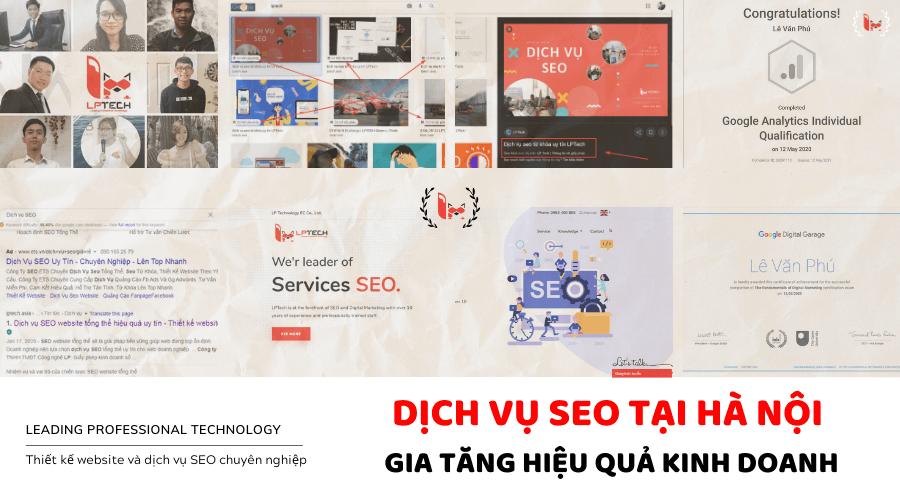 Dịch vụ SEO tại Hà Nội đột phá doanh thu kinh doanh