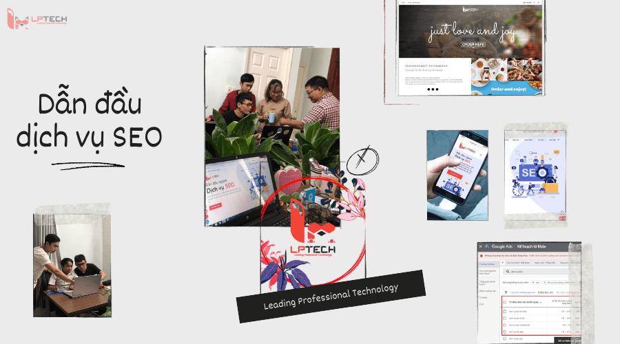 Dẫn đầu công nghệ với dịch vụ SEO tại Hà Nội LPTech
