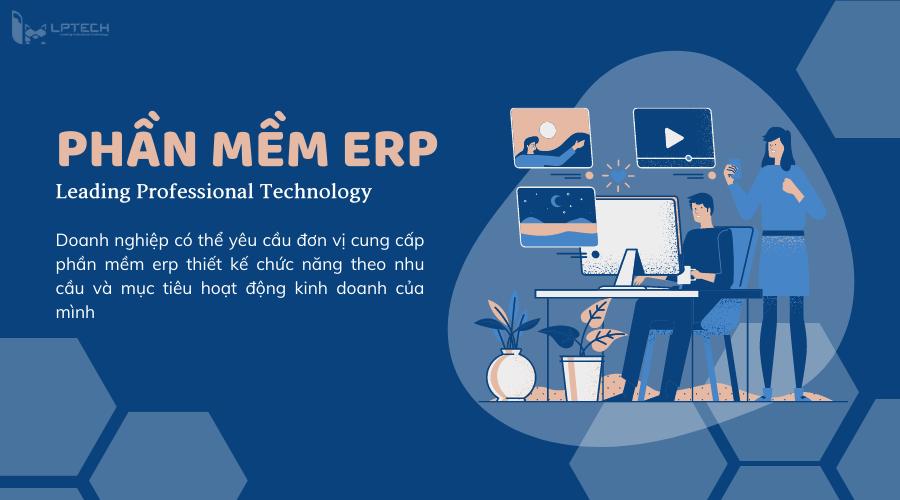 Thiết kế phần mềm ERP tài chính kế toán theo yêu cầu