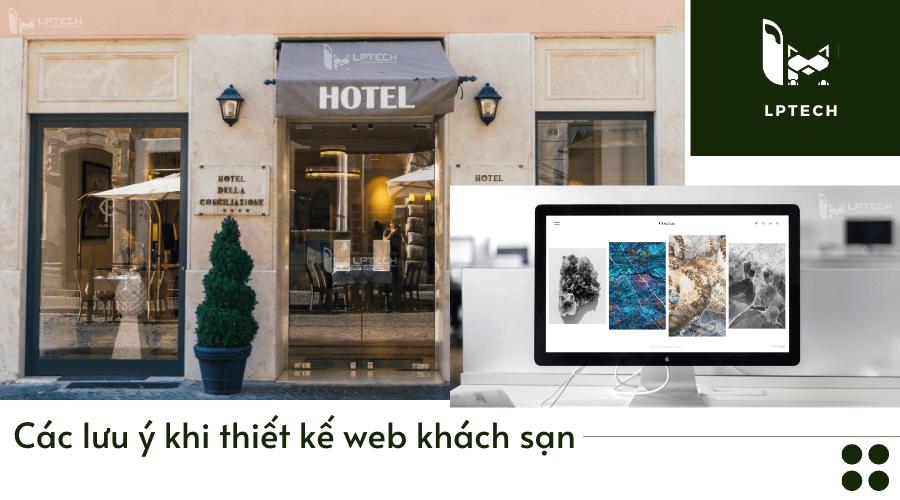 Các lưu ý khi thiết kế web khách sạn cần phải chú ý