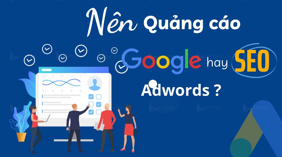 SEO website và Google Adword