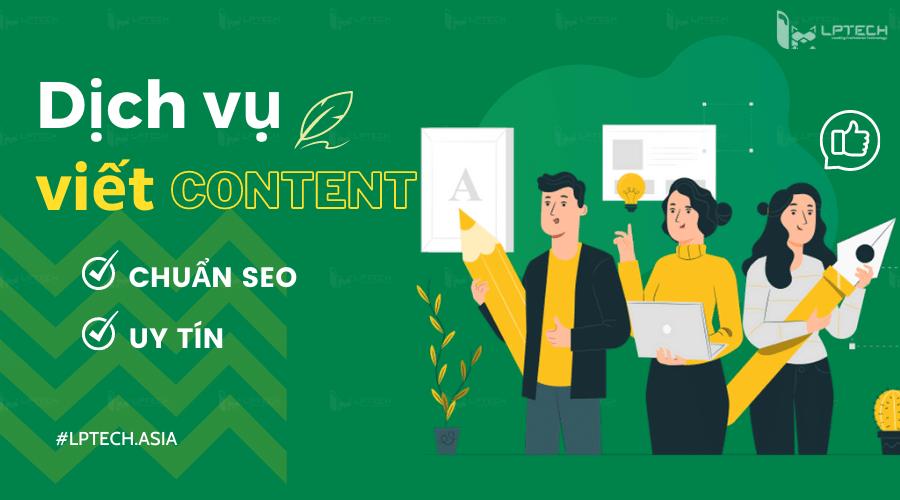 Dịch vụ viết content chuẩn seo