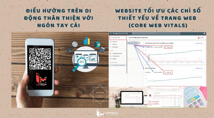 Thiết kế website xu hướng di động và tối ưu các chỉ số thiết yếu về trang web