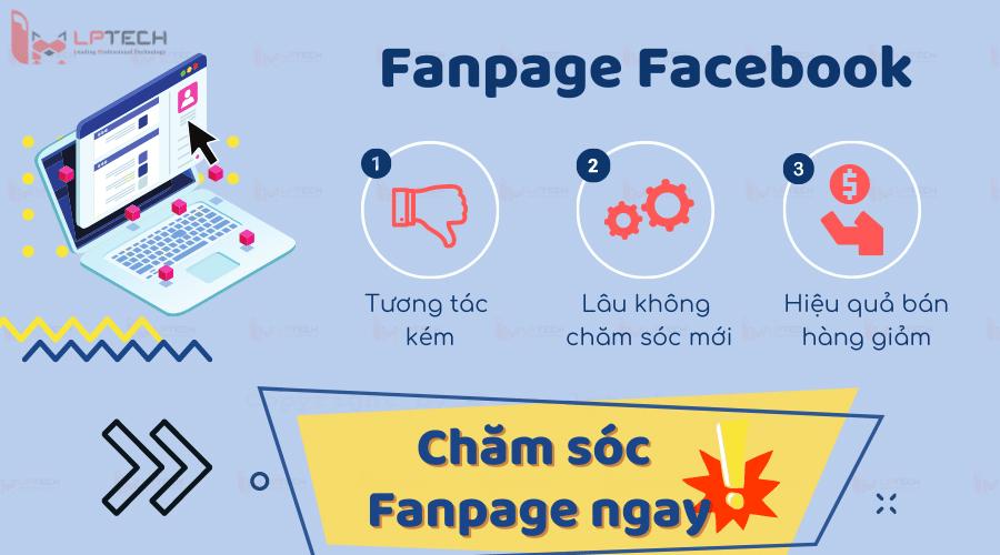 dịch vụ chăm sóc fanpage