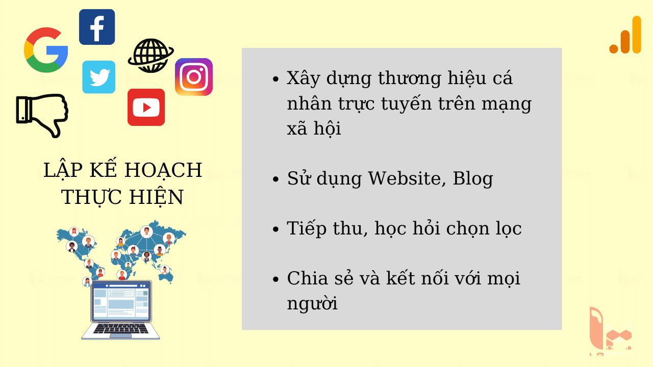 Xây dựng thương hiệu cá nhân trực tuyến