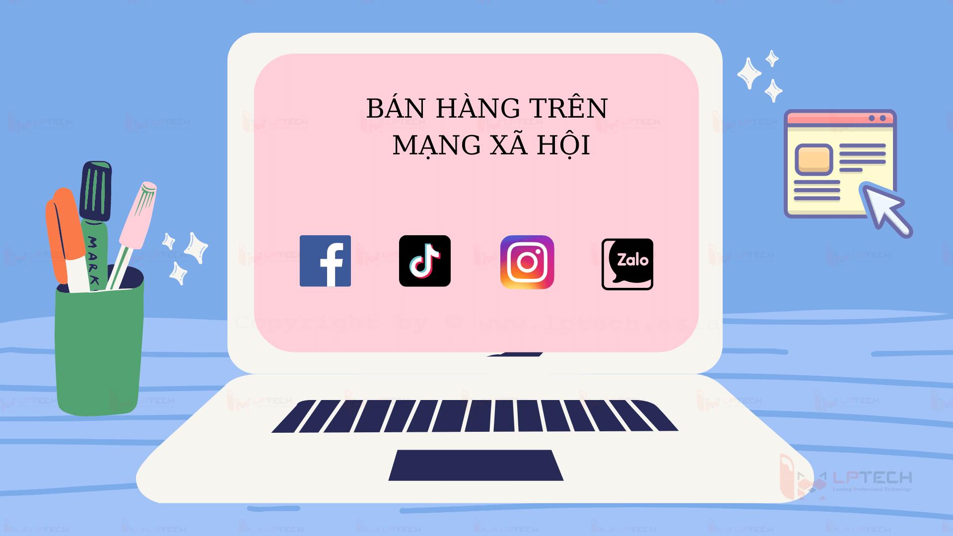 Bán hàng online trên mạng xã hội