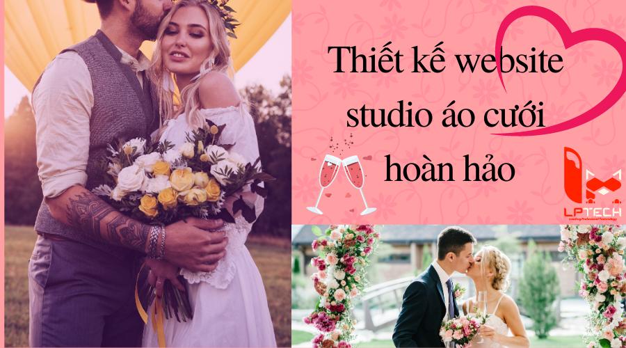 Thiết kế website studio áo cưới hoàn hảo