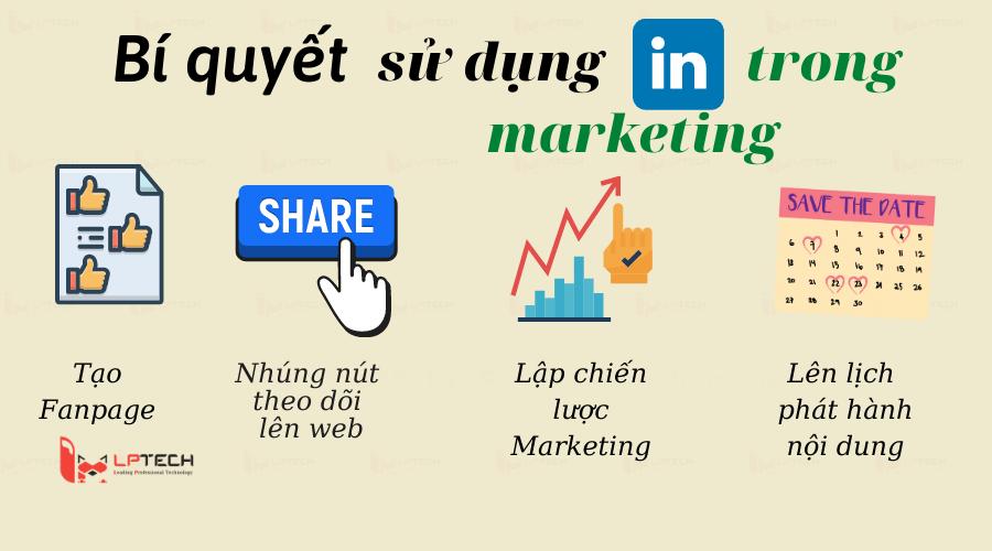 Bí quyết sử dụng Linkedin trong Marketing
