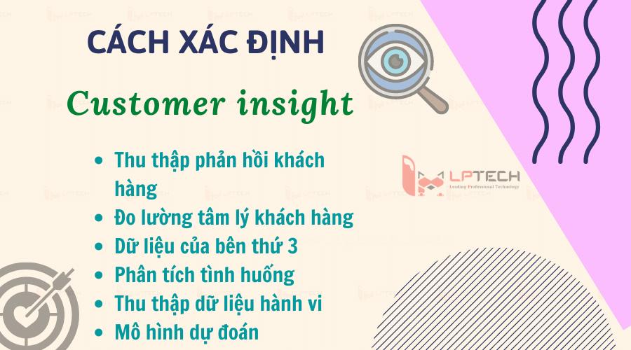 Cách để xác định Insight khách hàng