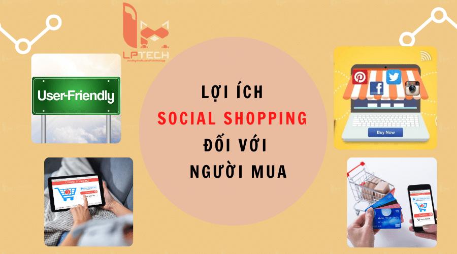 Lợi ích của social shopping