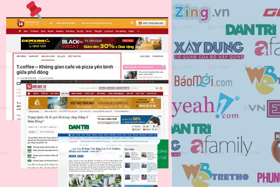 dịch vụ viết content PR báo điện tử