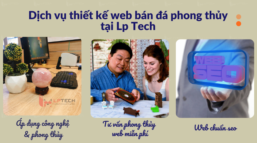 Thiết kế web tại LP Tech