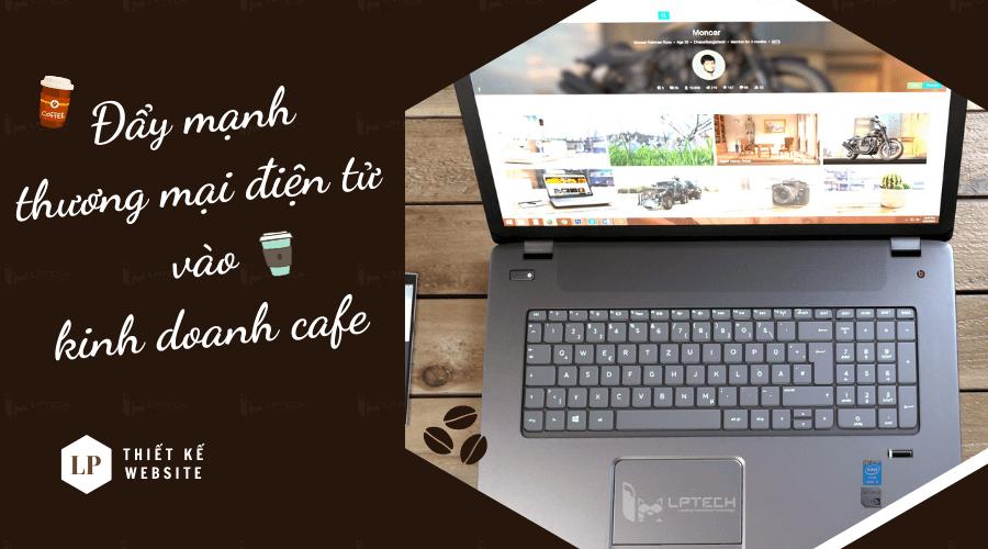 Website thương mại điện tử kinh doanh cafe