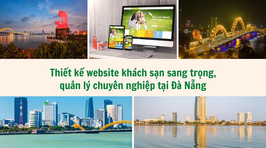 Thiết kế website khách sạn sang trọng, quản lý chuyên nghiệp tại Đà Nẵng