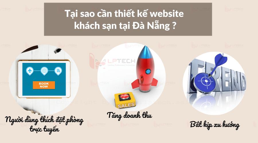 Tại sao cần thiết kế website khách sạn tại Đà Nẵng