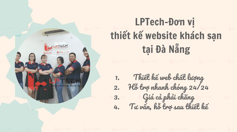 LPTech- đơn vị thiết kế website chuyên nghiệp tại Đà Nẵng