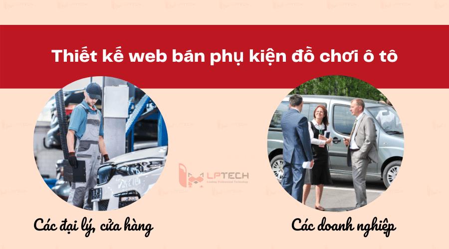 thiết kế website bán phụ kiện đồ chơi ô tô tại thành phố Hồ Chí Minh