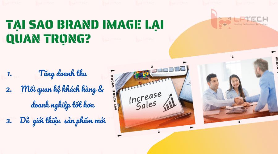 Tại sao Brand image lại quan trọng?
