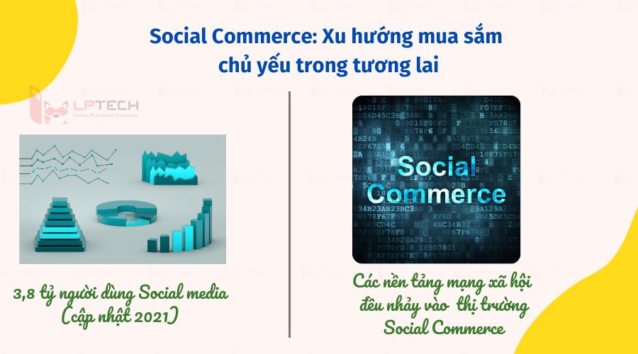 Tại sao social commerce lại lấn át trung tâm mua sắm?