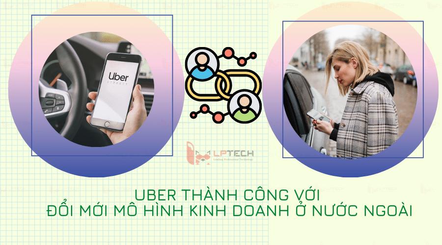 Đổi mới mô hình kinh doanh của Uber