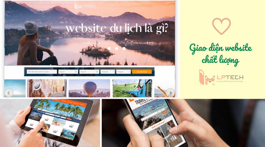 6 yếu tố thiết kế web du lịch hấp dẫn khách đặt tour tại Đà Nẵng